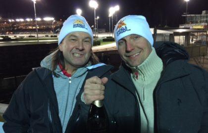Chrille & PG Norman firar V75-vinst