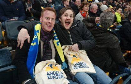 Glada biljettvinnare ser VM-kvalet Sverige-Vitryssland