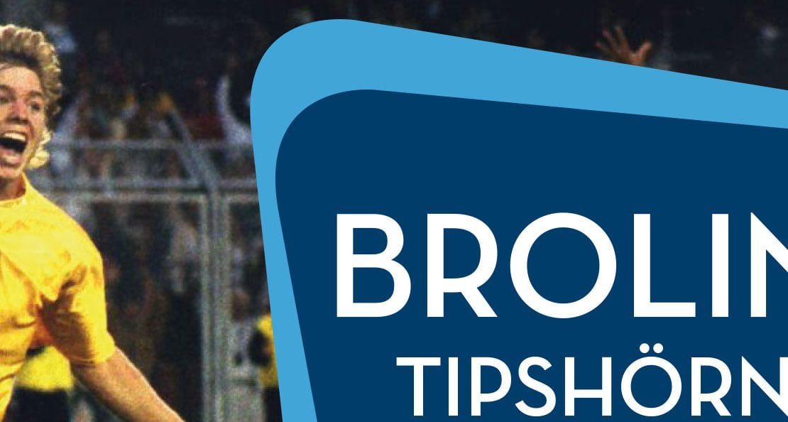 Brolins Tipshörna inför helgen