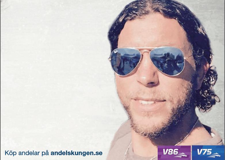 Tomas Oleby sätter 7:an på V75 Bergsåker!!!