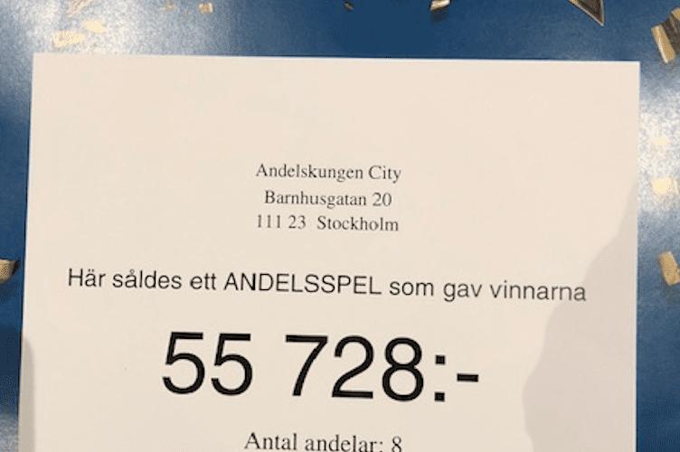 13 RÄTT PÅ STRYKTIPSET IGEN !!!